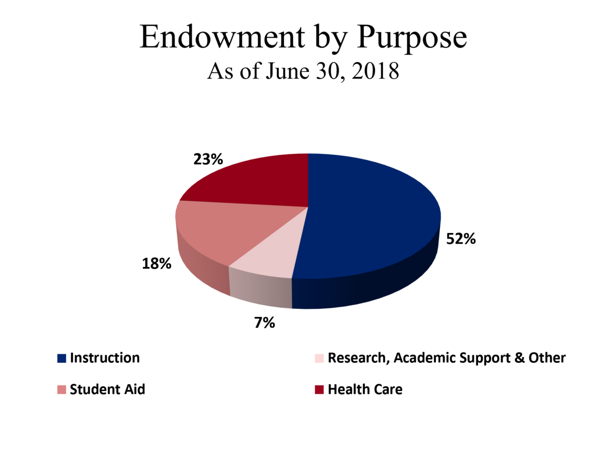 Endowment by Purpose
